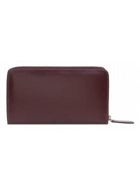 Портмоне-клатч из натуральной кожи Alliance 0-750 бордо-мульти1