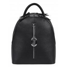 Кожаный рюкзак женский из натуральной кожи Franchesco Mariscotti 1-4250к-100 чёрный