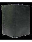 Портмоне для документов Вояж-A дымчато-черное Apache