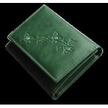 Портмоне женское зеленое Джари-2 Мэри Kniksen