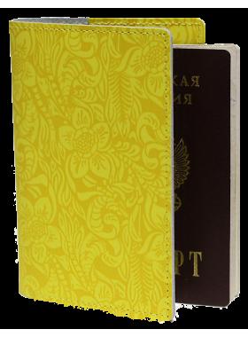 Обложка на паспорта аляска желтая Person