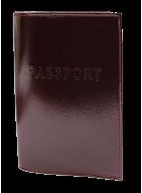 Обложка на паспорт СТ-ПО-2 В бургундия Старк