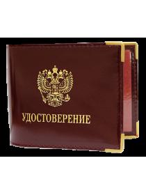 Обложка для удостоверения УД Person красный