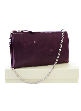Клатч женский фиолетовый  Мэри друид СК-1 Kniksen