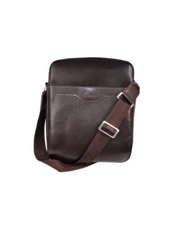 Сумка мужская кожа планшет СМ-9141 коричневая Person