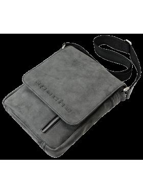 Мужская сумка через плечо СМ-4014-А серая Apache