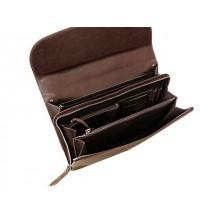 Портфель деловой ПД-9413-А дымчато-коричневый Apache