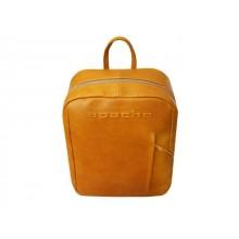 Рюкзак кожаный мужской P-9113-A табачно-желтый Apache