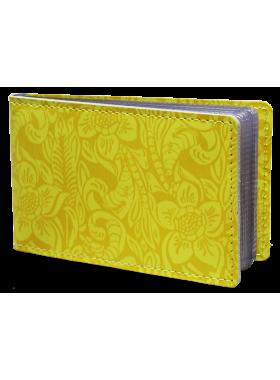 Футляр для визиток ВМ-Ф аляска желтая Person