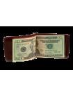 Зажим для денег из кожи ОК- 3 Person