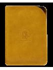 Чехол для паспорта ОП-А табачно-желтая Apache
