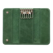 Футляр для ключей С-КС зеленый друид Флауэрс