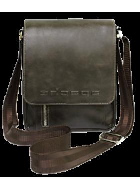 Сумка дымчато-коричневая СМ-4013-А Apache